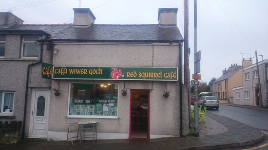 Newborough, UK: The Red Squirrel Cafe, Anglesey.