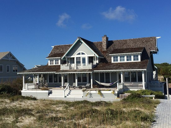 Bald Head Island, Carolina del Nord: Coastal Beach House