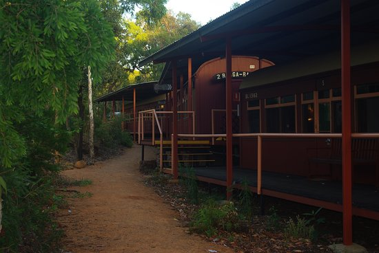 Undara Volcanic National Park, Australia: Railway car accommodation