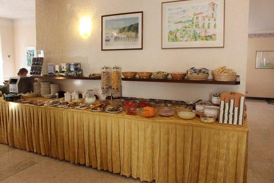 Hotel al Sole: Frühstücksbuffett