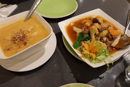 Twizel, Nowa Zelandia: カレーと炒め物