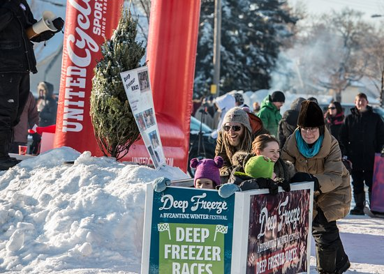Edmonton, Canada: Deep Freeze Festival Deep Freezer Races