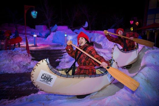 Edmonton, Canada: Flying Canoe Volant Festival