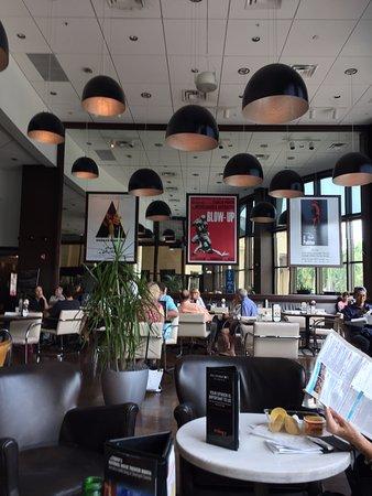 Silverspot Cinema : Seating for eating