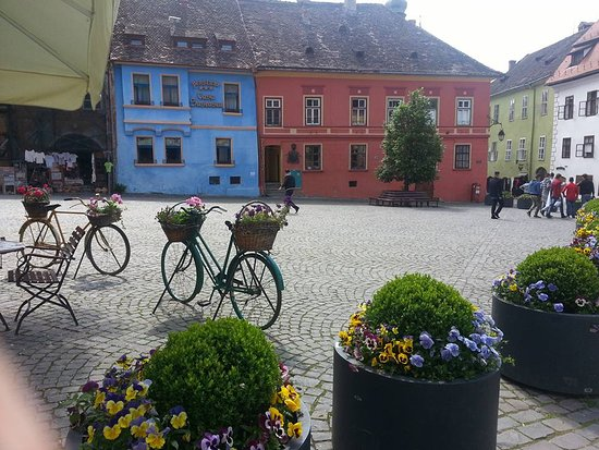 Central Romania, Romania: Ancient Sighisoara