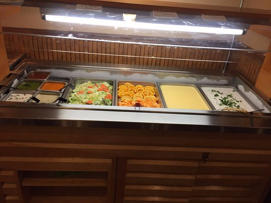 Lunch Buffet Cold station - Picture of
