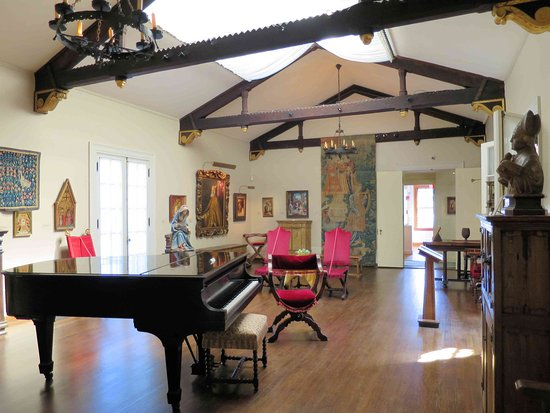 Гленз-Фоллз, Нью-Йорк: Hyde House - Upstairs music Room