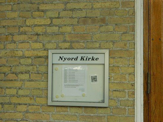สเตจ, เดนมาร์ก: Nyord Information board