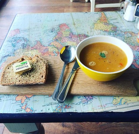 Maghera, UK: Our soups are inspired by our travels