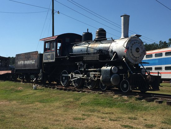 Winnsboro, SC: old train