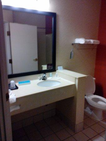 Sleep Inn & Suites: Bathroom was a good size.