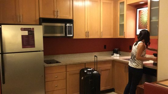 The mini kitchen Picture of Residence Inn by Marriott Austin