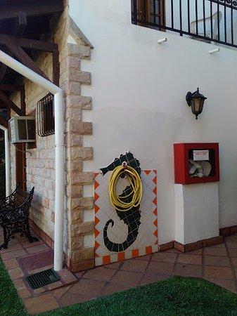 Aparthotel Porta Westfalica: デコレーションがとてもかわいいです