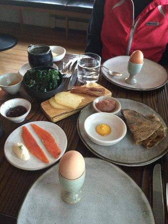 Lummi Island, WA: Breakfast!!