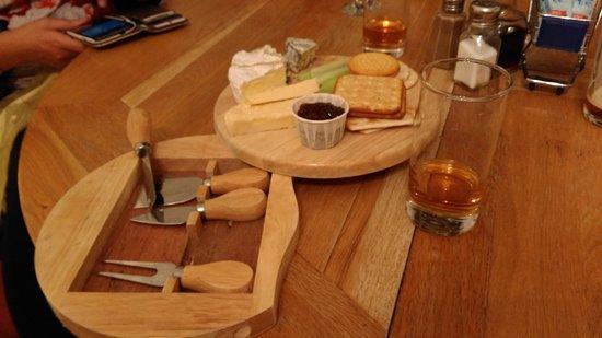 Ael y Bryn Hotel: Cheese Platter & Danzy Joes