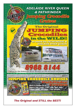 Northern Territory, Australien: Jumping Crocodile Cruise