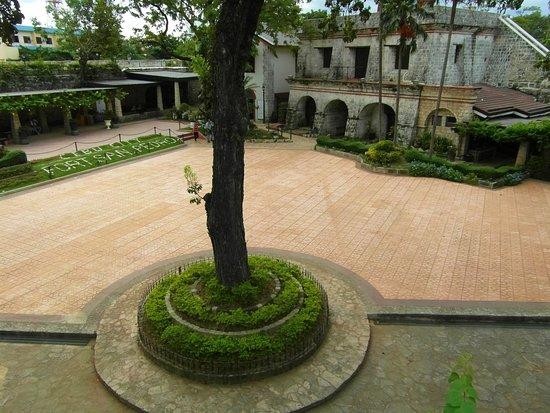 Fort San Pedro: Innenhof