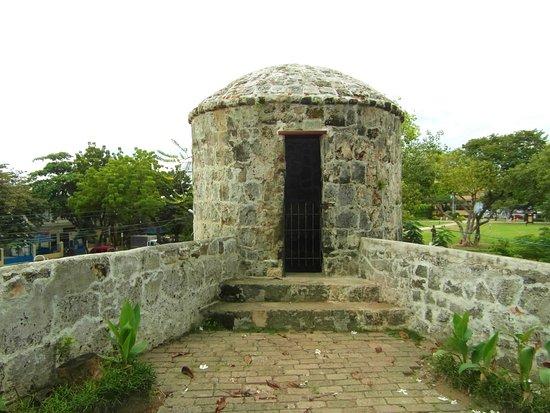 Fort San Pedro: einer der 4 Wachtürme
