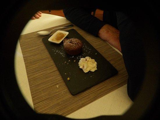 Montagne, Francja: le fondant au chocolat