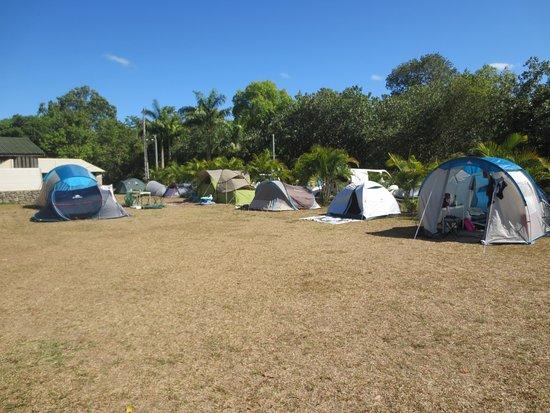 La Foa, Nouvelle-Calédonie : Aire de camping