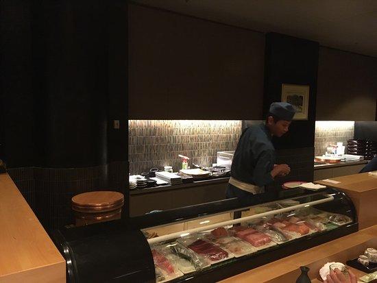 Sushibar picture of kenzan japanese restaurant for Asian cuisine melbourne