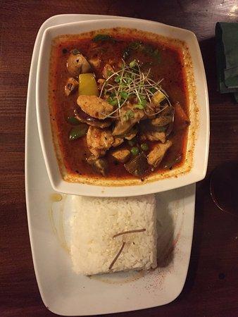 Excellent Thai food