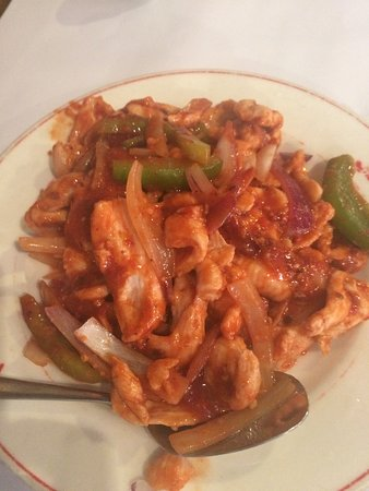 Pagoda Chinese Restaurant: Chicken Schezuan and 'Special' Fried Rice