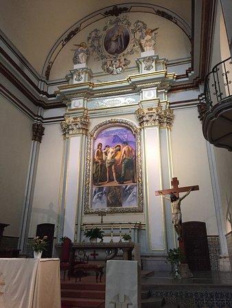 Alcala de Xivert, Spain: inside the basilica