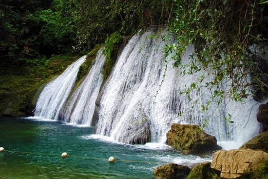 Portland Parish, Jamaika: Reach Falls is one of the two famous falls in Portland. Put Reach Falls your Bucket list today