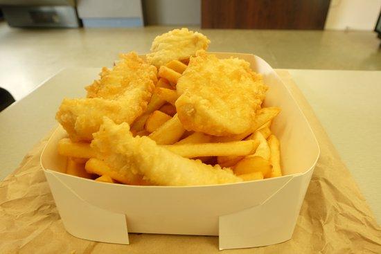 Mac's Fish : 二人で注文、十分でした