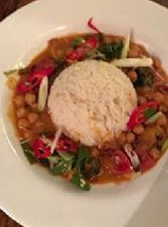 Binfield, UK: curry