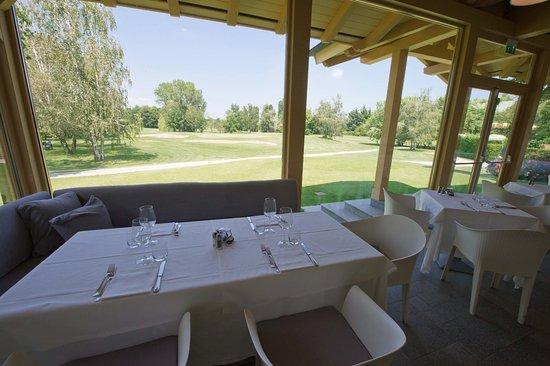 Cavaglia, Italia: Restaurant View