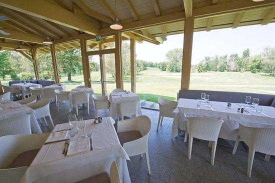 Cavaglià, Italia: Restaurant View