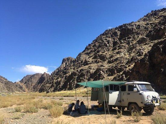 Ovorkhangai Province, Mongolië: Yoliin am, région de Gobi