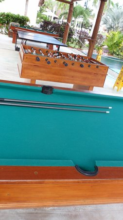 Excellence Riviera Cancun: Games Room: 2 Pool Tables, Table Tennis, Table  Football