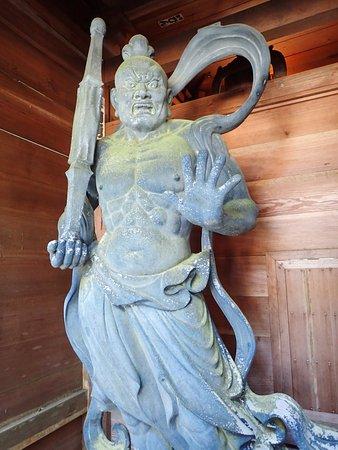 最御崎寺, 仁王像(阿形)