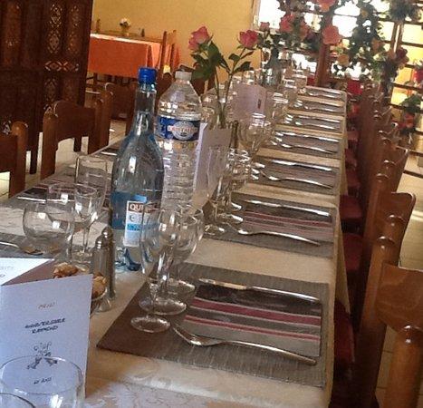 Malestroit, Francja: Groupe et repas de famille