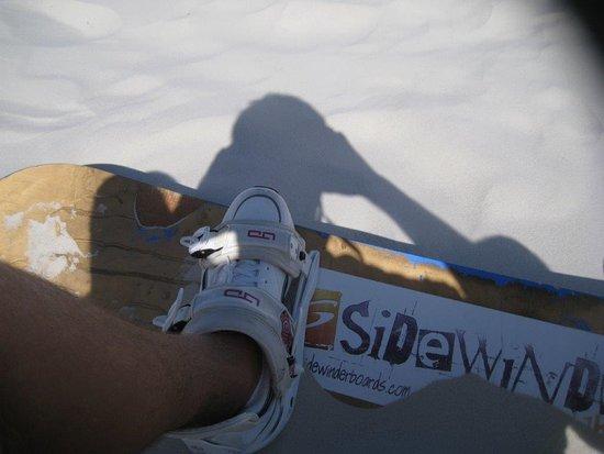 Edgemead, África do Sul: Sidewinder Adventures Sandboarding