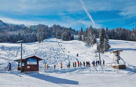 Fluehli, Schweiz: Skilift