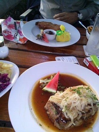 Weinstube Grashöfle Restaurant: Zwiebelrostbraten