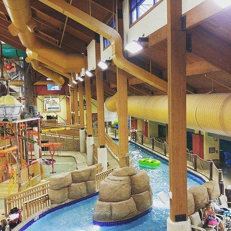 Indoor Water Park Picture Of Wilderness Resort Wisconsin Dells Tripadvisor