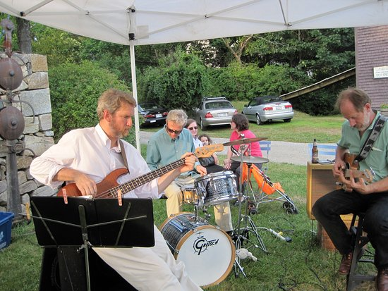 """George Marshall Store Gallery: """"Seasmoke"""" from Kittery entertain us at opening receptions."""