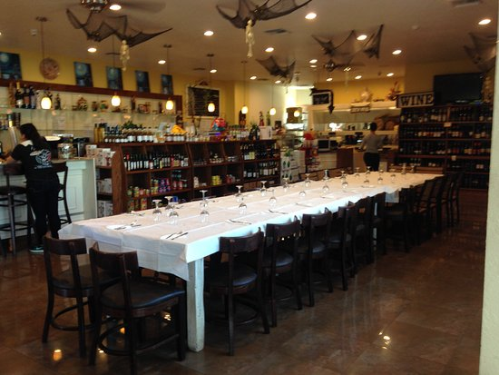 La Casa Del Pane: All set up for our Rehearsal dinner