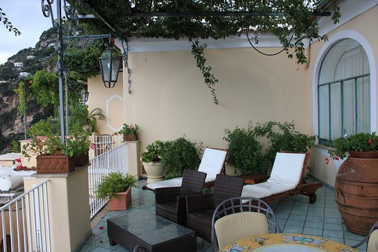 Hotel Montemare : Our Beautiful Patio. Best part of our trip.