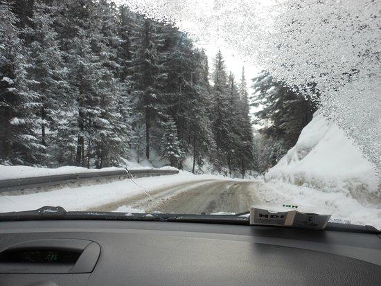 Rennweg, Áustria: la strada del ritorno