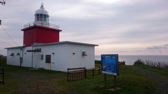 Hamanaka-cho, Jepang: 赤と白のかわいい灯台