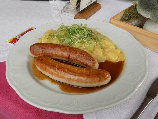 Bratwurst, Gasthaus Sonne, Bebenhausen