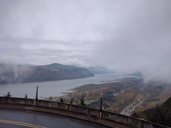 Corbett, OR: Even on cloudy day great views