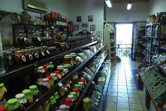 Kritsa, Grèce : inside shop