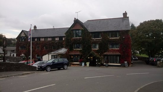 Exford, UK: Exterior view of the hotel
